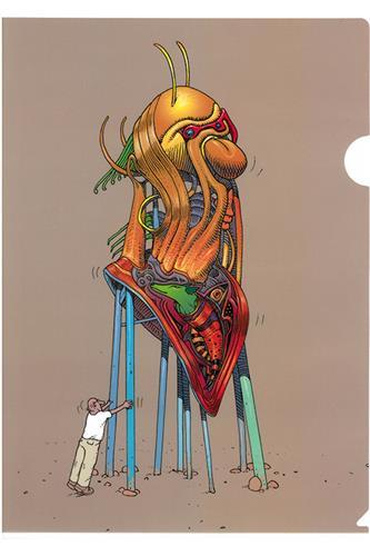 Moebius - Selfportræt