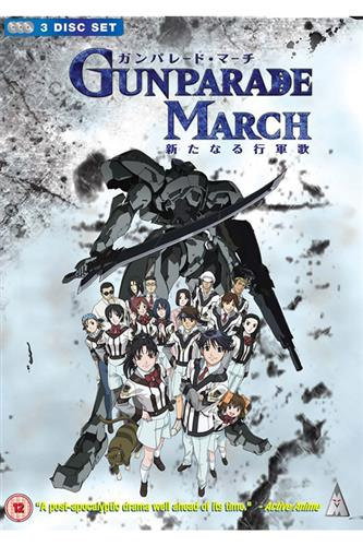 Gunparade March - Complete (Ep. 1-12) DVD