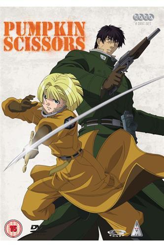 Pumpkin Scissors - Complete (Ep. 1-24) DVD