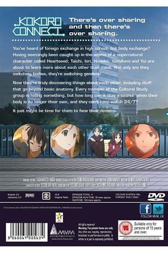 Kokoro Connect OVA Collection (DVD)