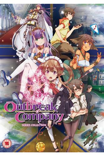 Outbreak Company - Complete (Ep. 1-12) DVD