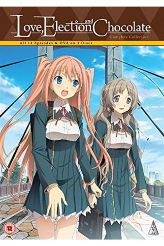 Love, Election & Chocolate - Complete (Ep. 1-12 & OVA) DVD