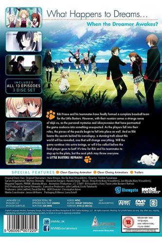 Little Busters Refrain - Season 2 (Ep. 1-13) DVD