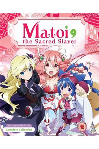 Matoi the Sacred Slayer - Complete (Ep. 1-12 & Ova) DVD