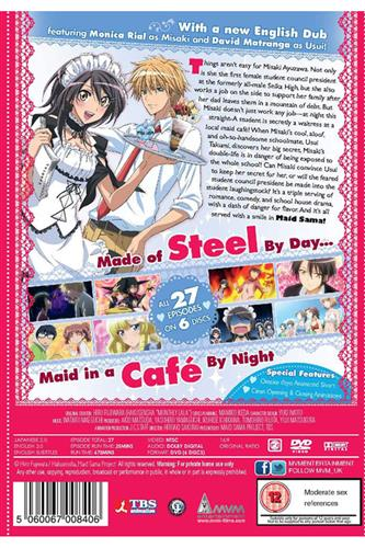 Maid Sama - Complete (Ep. 1-27) DVD