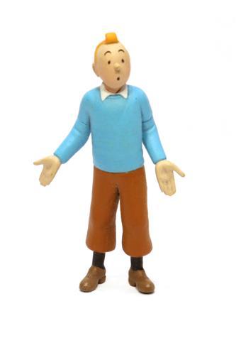 Tintin i sin blå jumper