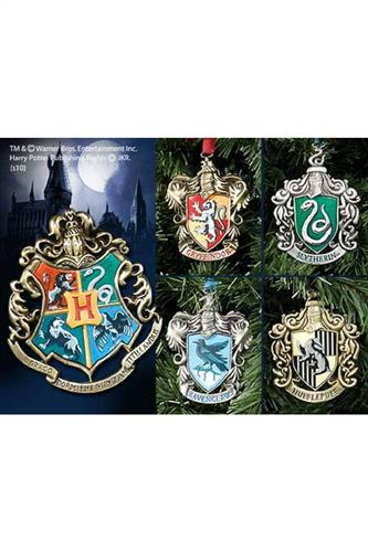 Harry Potter: House Crests Ornaments