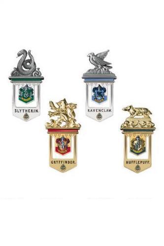 Harry Potter: Bogmærker med kollegierne, guldbelagt