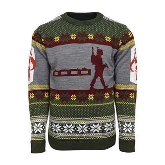 Official Star Wars Boba Fett Nordic Christmas Jumper