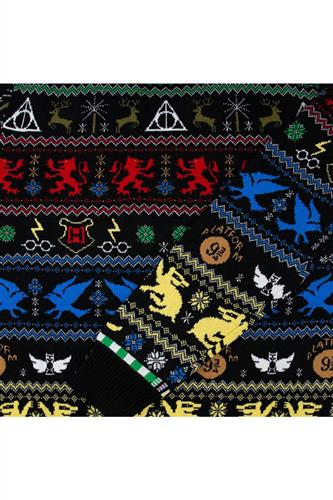 Julesweater - Harry Potter Houses Strik