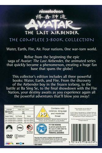 Avatar - The Last Airbender DVD Boks