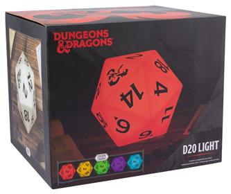 Dungeons & Dragons - D20 Colorchange Light