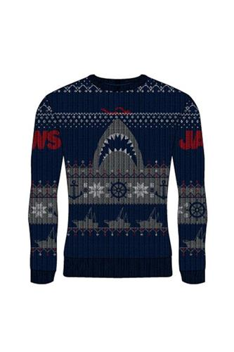 Jule Sweater - Jaws - Dødens Gab - Strik