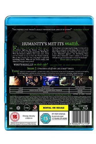 Attack on Titan - Season 2 (Ep. 26-37) Blu-Ray