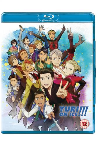 Yuri!!! on Ice - Complete (Ep. 1-12) DVD & Blu-Ray