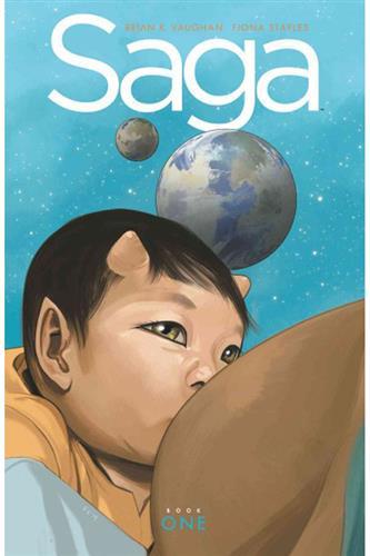 Saga - Deluxe Edition Book 1 HC (vol. 1-3)