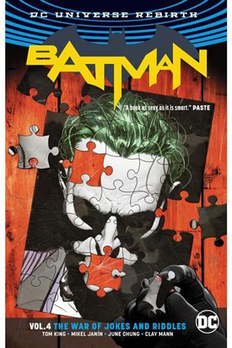 Batman (2016) vol. 4: The War of Jokes & Riddles (Rebirth)