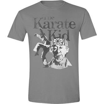 T-Shirt: Karate Kid - Crane  - Grey Melange S