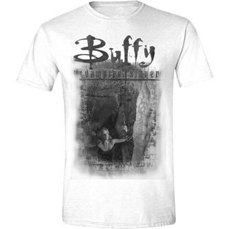 T-Shirt: Buffy the Vampire Slayer - Buffy Shackled Men  - White L