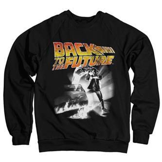 Back To The Future Poster Sweatshirt (Black)