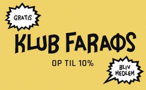 Klub Faraos - spar op til 10%