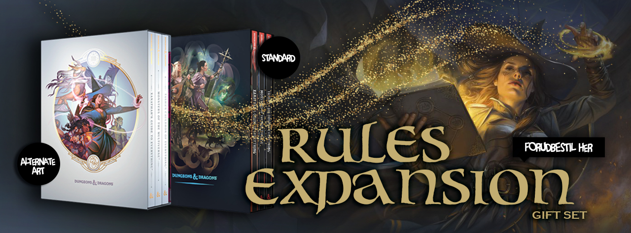 D&D Rules Expansion Giftset - Forudbestilling!