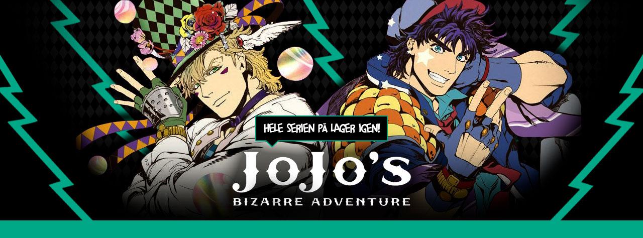 Jojo Bizarre Adventure - På lager igen!